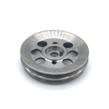 RSR Turbo to 935 Crank Shaft Pulley - Titanium