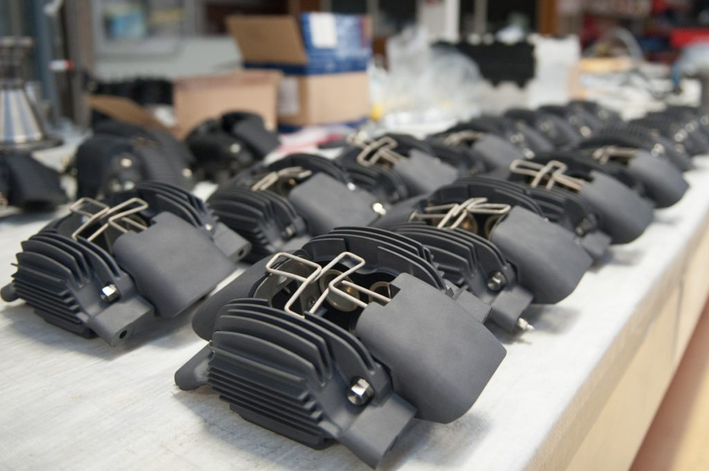 Porsche 911 RSR Brake Calipers